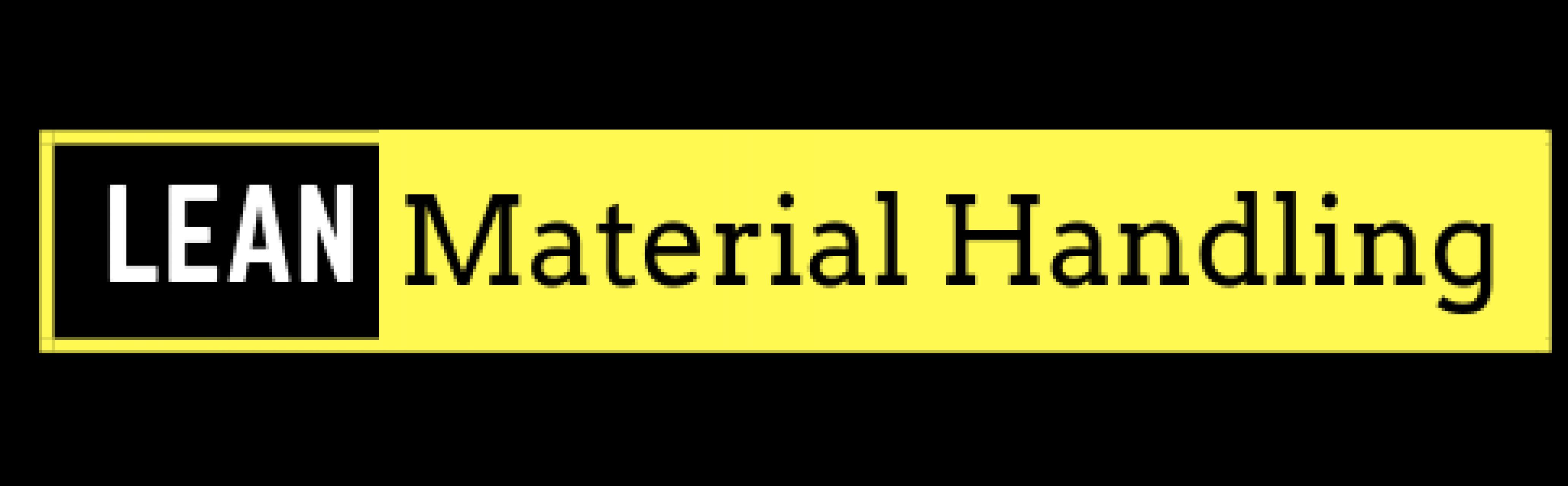 Lean Material Handling
